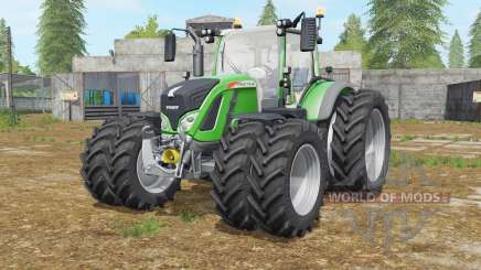Fendt 716-724 Vario wheels selection для Farming Simulator 2017