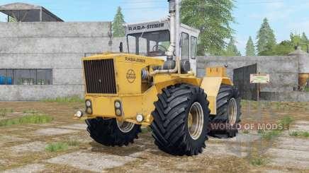 Raba-Steiger 250 indian yellow для Farming Simulator 2017