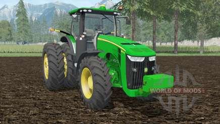 John Deere 8370R islamic green для Farming Simulator 2015