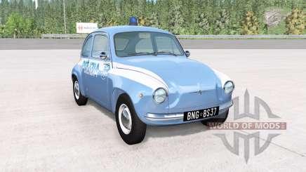 Autobello Piccolina Polizia для BeamNG Drive