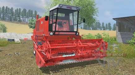 Bizon Super Z056 coral red для Farming Simulator 2013
