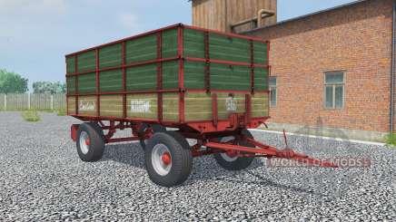 Krone Emsland hunter green для Farming Simulator 2013