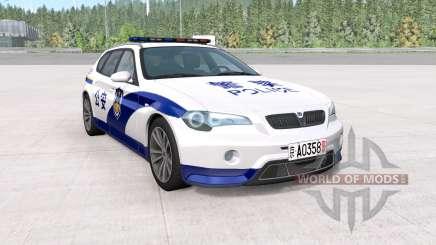 ETK 800-Series Chinese Police для BeamNG Drive