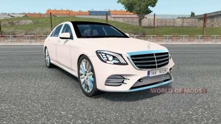 Mercedes-Benz S 400 d Lang AMG Line (V222) 2017 для Euro Truck Simulator 2