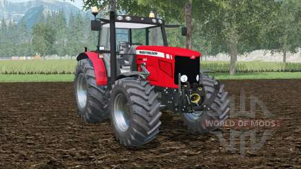 Massey Ferguson 6480 double wheels для Farming Simulator 2015