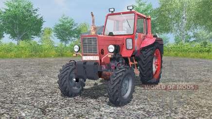 МТЗ-80 Беларус умеренно-красный окрас для Farming Simulator 2013