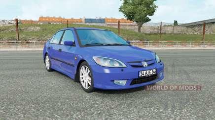 Honda Civic (ES) 2005 для Euro Truck Simulator 2