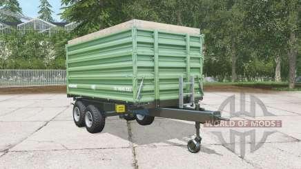 Brantner TA 14045-2 XXL dark sea green для Farming Simulator 2015