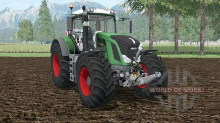 Fendt 828 Vario shamrock green для Farming Simulator 2015