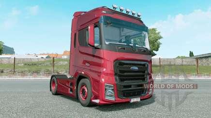Ford F-Max red salsa для Euro Truck Simulator 2