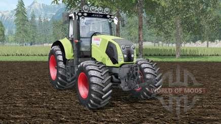 Claas Axion 830 wild willow для Farming Simulator 2015