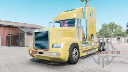 Freightliner FLD 120 golden sand для American Truck Simulator