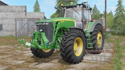 John Deere 8530 fully washable для Farming Simulator 2017