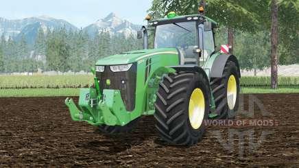 John Deere 8370R full cabine control для Farming Simulator 2015