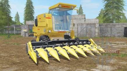 New Holland Clayson 8070 minion yellow для Farming Simulator 2017