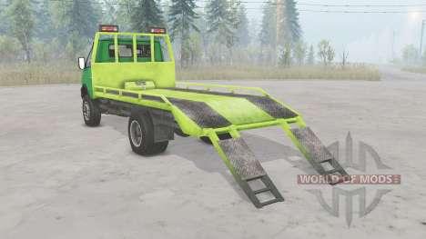 ГАЗ-33104 Валдай для Spin Tires