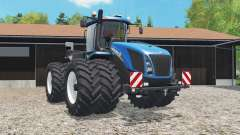 New Holland T9.565 added dual wheels для Farming Simulator 2015