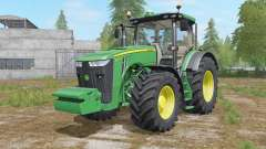 John Deere 8320R&8370R для Farming Simulator 2017