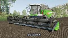 Fendt 6275 L & FreeFlow 25FT для Farming Simulator 2017