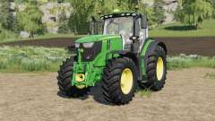 John Deere 6R-series with SeatCam для Farming Simulator 2017