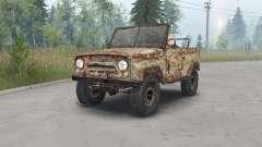 УАЗ-469 S.T.A.L.K.E.R. для Spin Tires