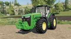 John Deere 8R-series 490-795 hp для Farming Simulator 2017
