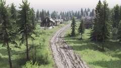 Два берега деревни v3.0 для Spin Tires