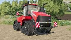Case IH Steiger Quadtrac license plate illuminat для Farming Simulator 2017
