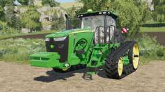 John Deere 8RT-series with SeatCam для Farming Simulator 2017