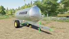 Joskin AquaTrans 7300 S milk для Farming Simulator 2017