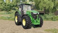 John Deere 7R-series with SeatCam для Farming Simulator 2017