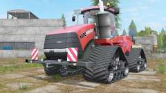 Case IH Steiger 1000 Quadtrac Red Baron для Farming Simulator 2017