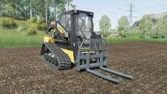 New Holland C232 with attachment weight для Farming Simulator 2017