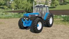 Ford 40-series added Michelin&Mitas tires для Farming Simulator 2017