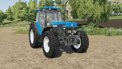 New Holland 8340 wheels selection для Farming Simulator 2017