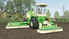 Krone BiG M 450 added Michelin and Mitas tires для Farming Simulator 2017