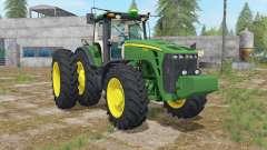 John Deere 8000 USA для Farming Simulator 2017