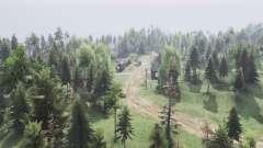 Два берега деревни v2.0 для Spin Tires