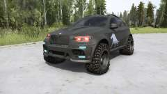 BMW X6 M (E71) BORZ v2.0 для MudRunner