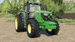 John Deere 6R-series more tires для Farming Simulator 2017