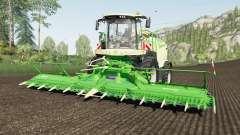 Krone BiG X 1180 use spherical trailers для Farming Simulator 2017
