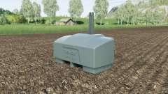 Fendt weight 10000 kg. для Farming Simulator 2017
