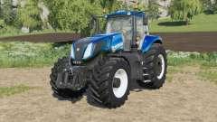 New Holland T8-series new engine configuration для Farming Simulator 2017
