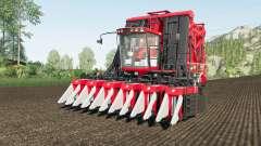 Case IH Module Express 635 working speed 20 km-h для Farming Simulator 2017