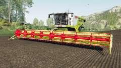 Claas Lexion 780 rio granᶁᶒ для Farming Simulator 2017