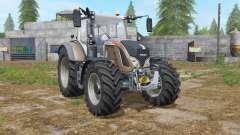 Fendt 700 Vario added tires для Farming Simulator 2017