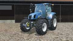 New Holland T6.160 no brackets для Farming Simulator 2015