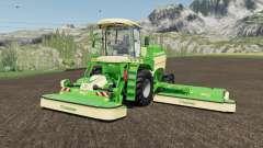 Krone BiG M 450 more horsepower для Farming Simulator 2017
