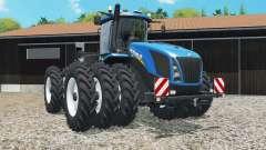 New Holland T9.565 triple row crop для Farming Simulator 2015