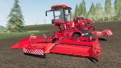 Holmer Terra Felis 3 Michelin tires для Farming Simulator 2017
